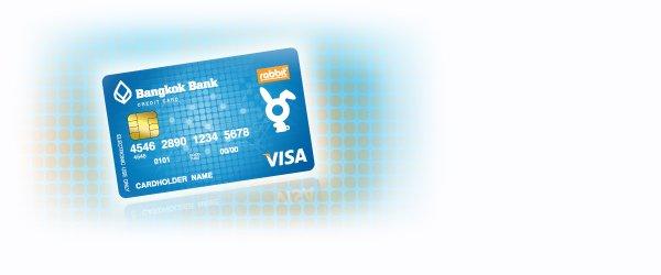 บัตรเครดิตกรุงเทพ แรบบิท-บัตรเครดิตกรุงเทพ แรบบิท